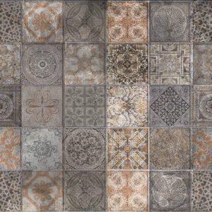 שטיח קלאסי, אריחים