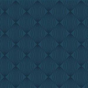 טפט גיאומטרי, טפט כחול