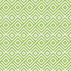 טפט גיאומטרי, מעויין ירוק