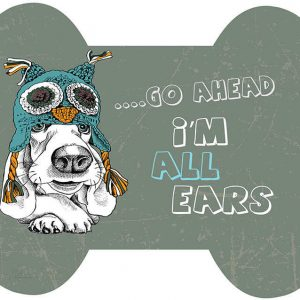 שטיח לכלב, אזניים