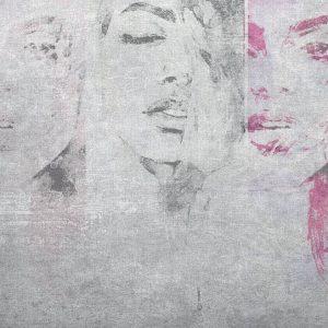 טפט אמנותי רישום נשים