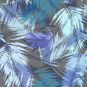 טפט טרופי, כחול סגול