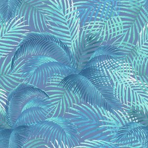 טפט טרופי, כחול