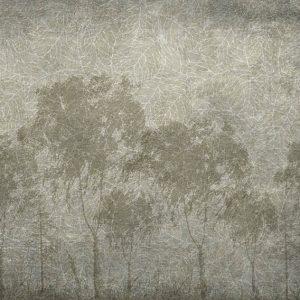 טפט עצים, ירוק, בטון