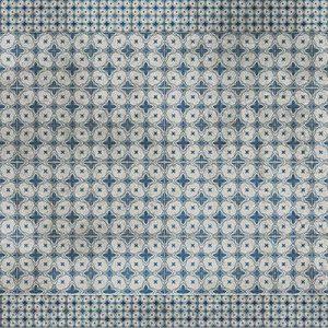 שטיחי אריחים, שטיח בוהמי, כחול, אפור