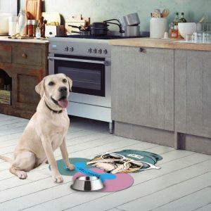 שטיח לכלב לאיזור האכילה