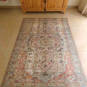 שטיח קלאסי, שטיח פרסי אדום, pvc