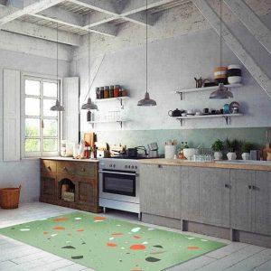 טרצו, טרצו ירוק, שטיח פיויסי למטבח
