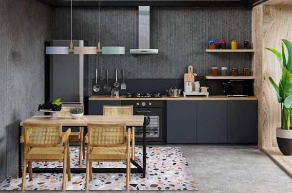 מאדי ארטס, שטיחי פיויסי מטבח, לפי התאמה, טרצו צבעוני