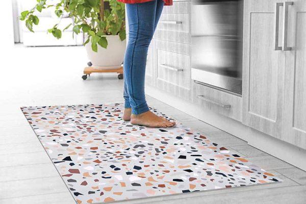 מאדי ארטס, שטיחי פיויסי למטבח, טרצו, טרצו צבעוני, שטיח טרצו